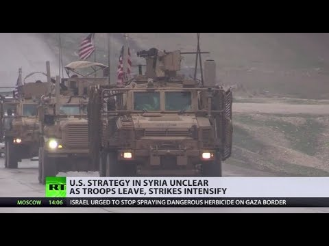 Troops leave, but strikes intensify: US withdrawing from Syria, but 'not in a meaningful way'