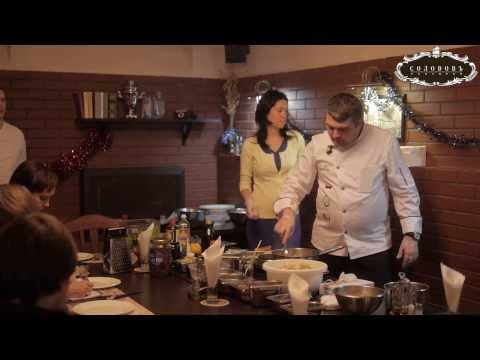 Кулинарный мастер-класс. Салат Цезарь с креветками