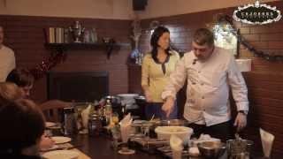 """Кулинарный мастер-класс. Салат """"Цезарь с креветками"""""""