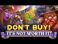 Don't buy Tombs of Terror With Gold, it's not worth it: New Hearthstone Adventures is only for money