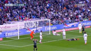 Real Madrid vs Malaga - La Liga Match Highlights - 18 04 2015 ENGLISH COMMENTARY