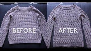 2 Truques fáceis para desencolher as roupas