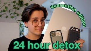 I Tried A 24 HOUR DIGITAL DETOX To Cure My Phone Addiction