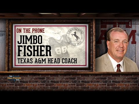 New Texas A&M Coach Jimbo Fisher Dials Into The Dan Patrick Show | Full Interview | 12/6/17