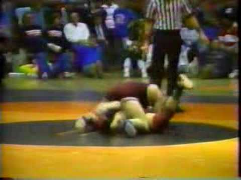 Baird Lashley vs. David St. Peter 1989 State Finals