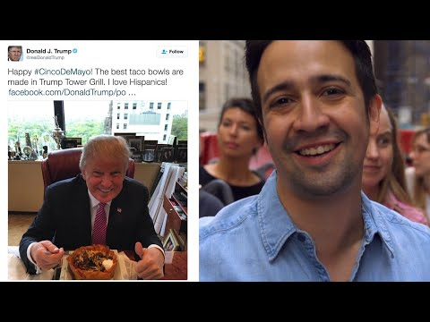 Hamilton's Lin-Manuel Miranda Sings Donald Trump Tweets In a New Musical | GQ