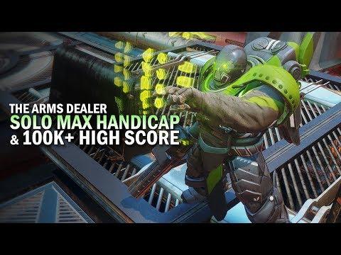 Solo Max Handicap (209) & 100k+ Score Nightfall