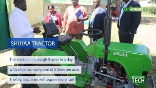 SHUJAA TRACTOR: Affordable and Made in Kenya