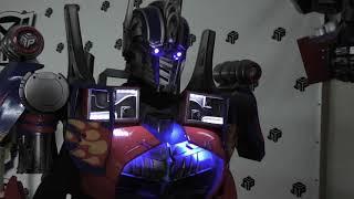 Лига Роботов .Купить костюм трансформера Оптимуса Прайма .Мини обзор.