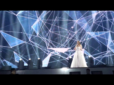 Eurovision Song Contest 2017  Blanche / City Lights / Belgium   Rehearsal Full Effects