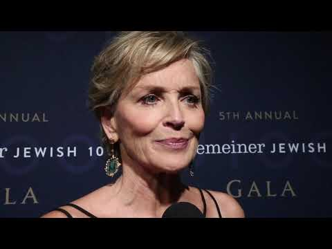 Algemeiner J100 Gala, 2018: Sharon Stone Says Israel Has 'Dear Place' in My Heart