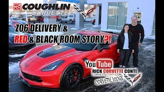 JAY & DAUGHTER PICK UP Z06 & WHAT ABOUT THIS RED & BLACK ROOM?!?!