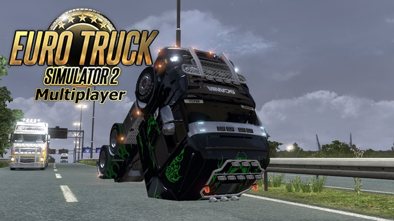 accidentes y dem s euro truck simulator 2 multiplayer. Black Bedroom Furniture Sets. Home Design Ideas