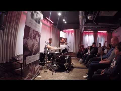 Jamie Morrison (Stereophonics Drummer) Performing At East London Drum School