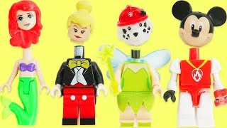 Learn Colors with Disney Princess, Paw Patrol Legos, & Tinker Bell Skye Wrong Heads   Sparkle Spice