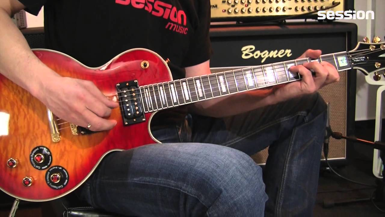 Epiphone Prophecy Les Paul Gx Hs Youtube