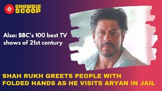 Shah Rukh visits Aryan in jail, BBC's 100 best TV shows of 21st century