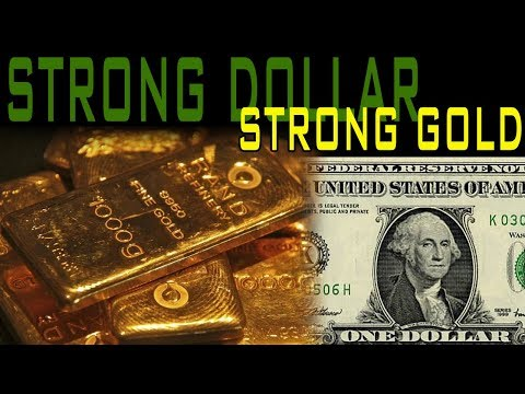 How A Strong Dollar Could Lead To Rising Gold Prices!