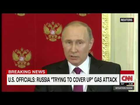 Pentagon  No doubt Syria behind gas attack