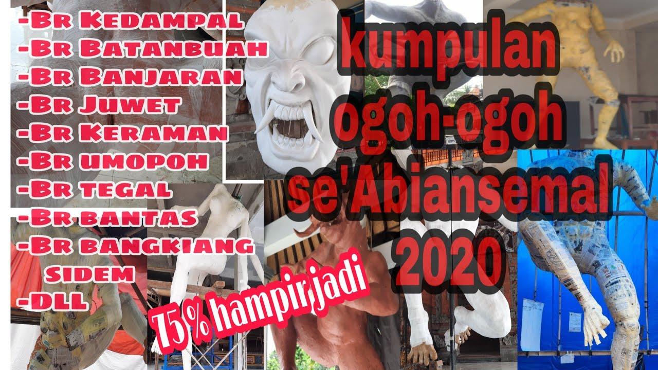 Kumpulan Ogoh Ogoh Abiansemal Tahun 2020 On Proses