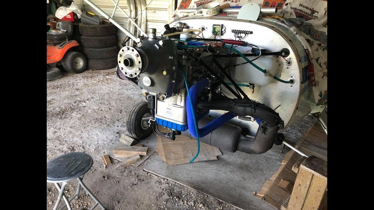 Rotax 582 Installation