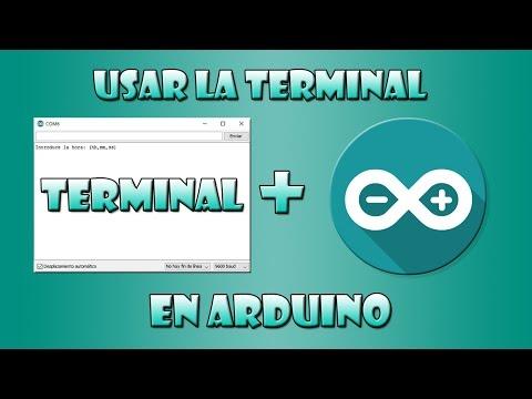 Como leer datos de la terminal de arduino