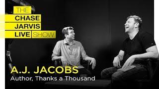 Glück Durch Dankbarkeit mit AJ Jacobs | Chase Jarvis LIVE