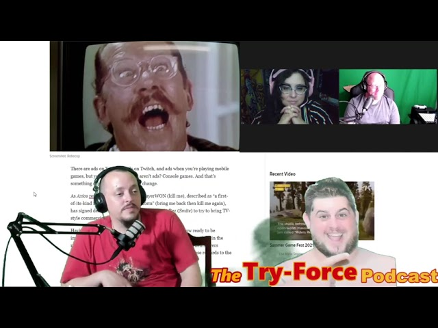 #233 Try-Force Podcast: That's A Spicy Thick Boy