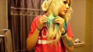 How to dye hair ombre