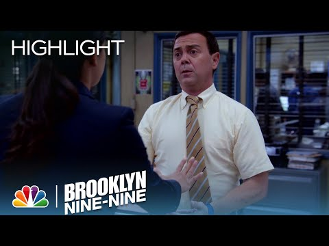 Amy Writes A Secret Letter To Jake | Season 4 Ep. 2 | BROOKLYN NINE-NINE