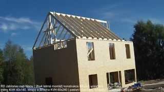 Dřevostavba systémem 2by4 Jablonec nad Nisou