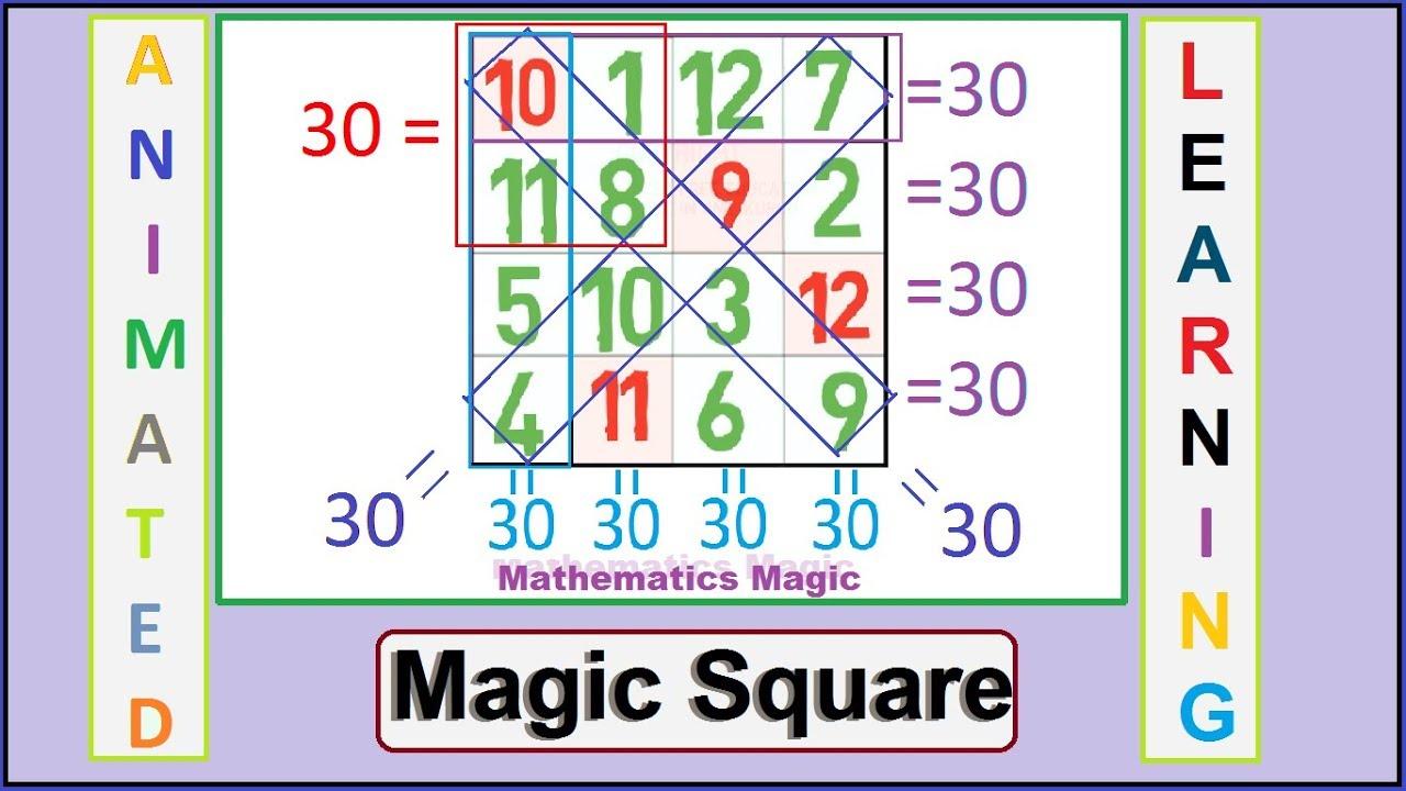 How to create a Magic square | magic square trick | magic tricks | Shortcut  world |