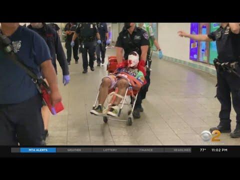 Man Rushed To Hospital After Times Square Subway Station Slashing