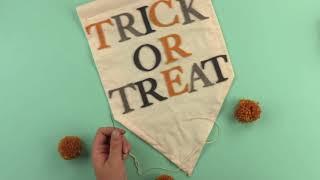 Halloween Hanging Decoration with Yasmin - Sizzix Lifestyle