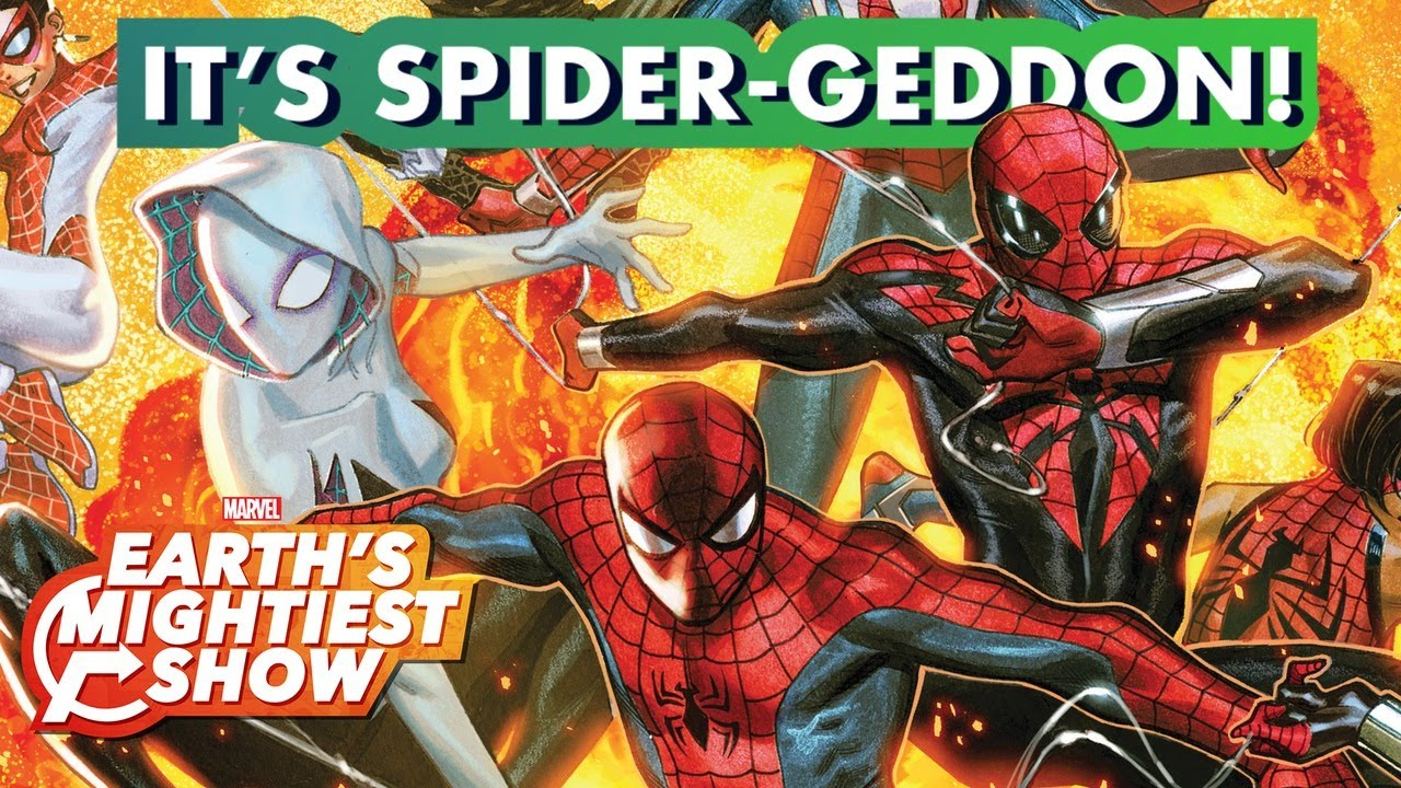 Spider-Geddon is here, and we've got every Spider-Person ever! | Earth's Mightiest Show