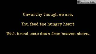 Miracle of Grace (Bread of Life)- Curtis Stephan- Lyrics