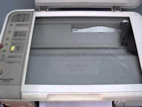 Error HP F4280