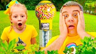 Nastya y sus amigos tuvieron una nueva competencia divertida para niños