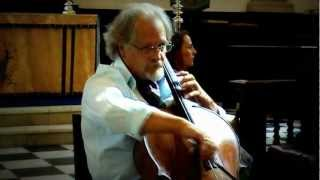 Caix d'Hervelois, Suite ii in D minor (complete) - Ivan Andrews cello Eric Stevens, piano