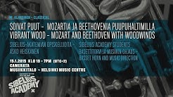 Vibrant Wood – Mozart and Beethoven with Woodwinds