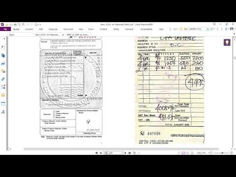 How To Record In Your Books Of Accounts For Non-VAT Seller Of Service Part 12 - TRAILER :)
