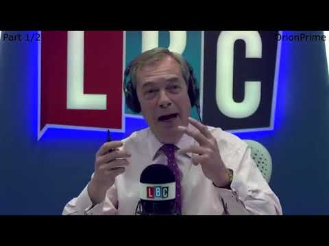 The Nigel Farage Show On Sunday: Is your view of Trump changing? 1/2  LBC - 28th January 2018