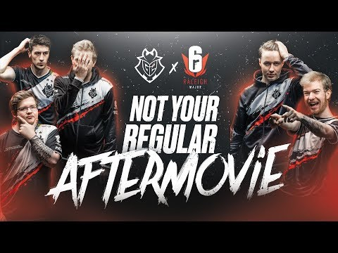 Not Your Regular Aftermovie | G2 Rainbow Six Siege Raleigh Major