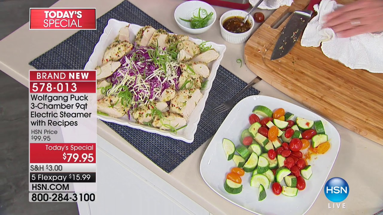 HSN | Chef Wolfgang Puck 01.26.2018 - 11 AM - YouTube