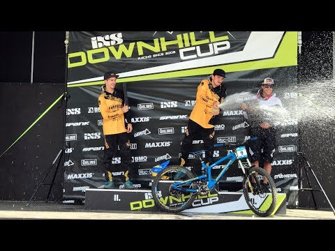 IXS European Downhill Cup. Schladming 2017 Final RAW Sony X-3000 4K