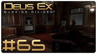 Deus Ex: Mankind Divided #65 [M14]: Mäuschen spielen für Stolperer - Let