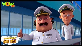 Motu Patlu New Episode  Hindi Cartoons For Kids  Motu Patlu Ka Flying Ship  Wow Kidz
