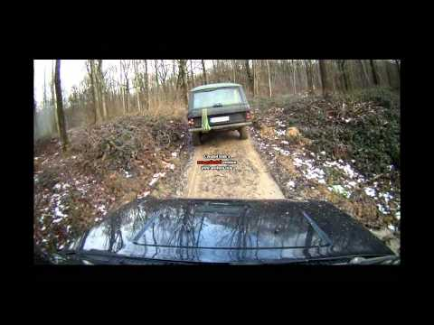 Land rover offroad Domain de forest hill mud