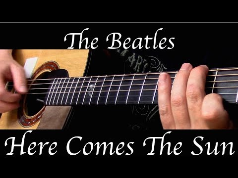 The Beatles - Here Comes The Sun - Fingerstyle Guitar