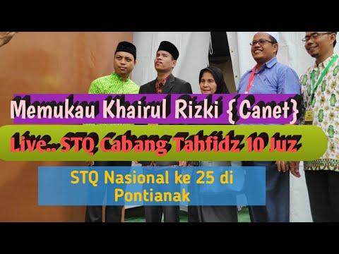 LIVE Arena STQ Nasional | Tampil Memukau Khairul Rizki | Peserta Cacat Netra Cabang Tahfidz 10 Juz